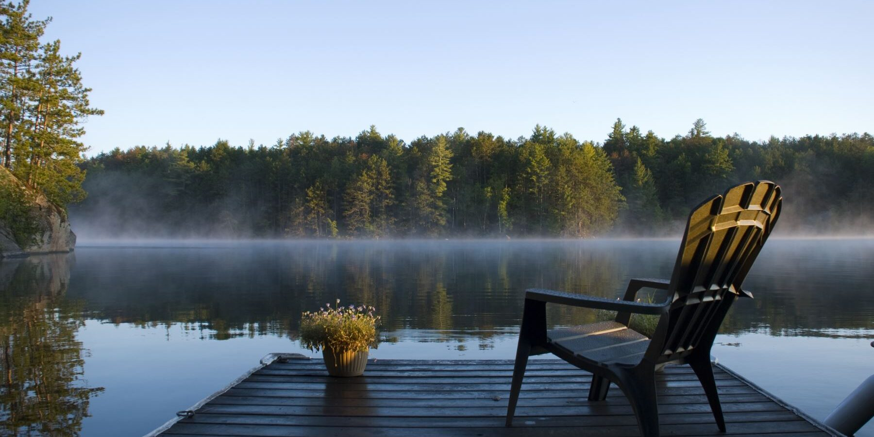 Morning-Mist-On-The-Lake